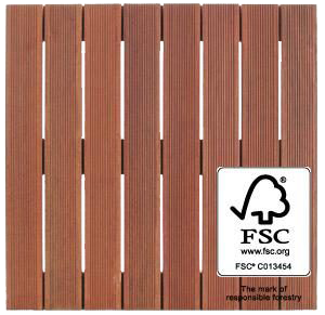 FSC Massaranduba Wood Tile